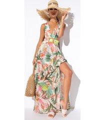 akira linda maxi floral dress