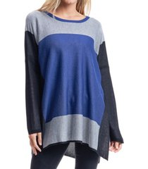 fever colorblock poncho