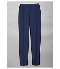 reserve collection tailored fit flat front dress pants - big & tall by jos. a. bank