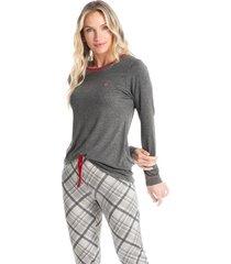 pijama legging estampado elisa