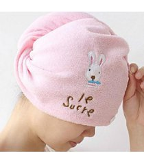 creative-home-multifunction-cartoon-rabbit-super-absorbent-dry-hair-cap-environm