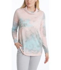 adyson parker women's long sleeve cowl top with earloops