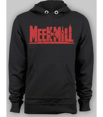 meek mill dreamchasers self made pull over hoodie