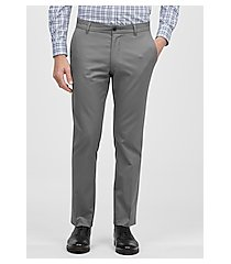 travel tech slim fit flat front casual pants clearance by jos. a. bank