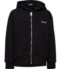 sbean over sweat-shirt hoodie trui zwart diesel