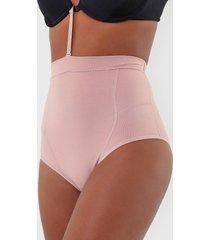 calcinha love secret biquíni abdominal rosa