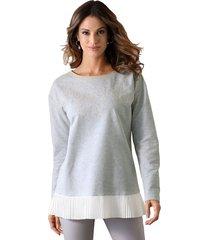 sweatshirt amy vermont grijs::offwhite