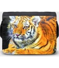 torba na ramię duża tygrysek