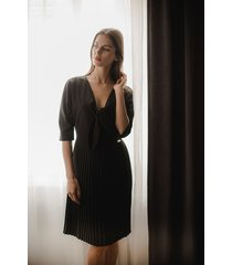 sukienka l076 czarny
