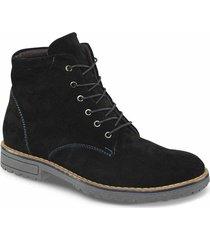 botas casual sirius negro para hombre croydon
