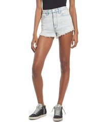 lee high waist cutoff denim shorts, size 29 in clouded bleach at nordstrom