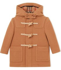 burberry double-faced duffle coat