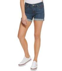 "tommy jeans 4"" curvy denim shorts"