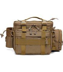 camouflage tactical waist borsa travel outdoor shoulder borsa messenger borsa per gli uomini
