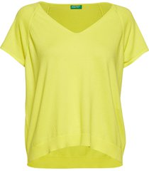 v neck sweater h/s t-shirts & tops knitted t-shirts/tops gul united colors of benetton
