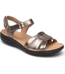 laurieann sela shoes summer shoes flat sandals silver clarks