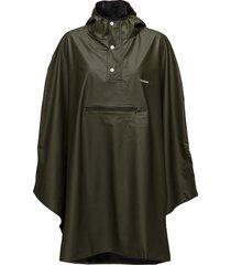 pu light rainponcho outerwear rainwear rain coats grön tretorn
