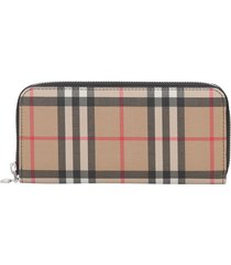 burberry ellerby zip around wallet