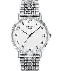 reloj tissot t-classic everytime t109.410.11.032.00 unisex