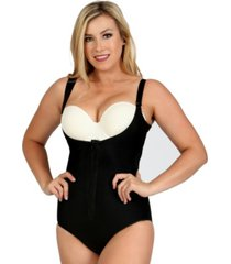 instantrecovery md compression open bust bodysuit, online only