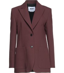 msgm suit jackets