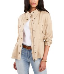 vince camuto stand-collar jacket