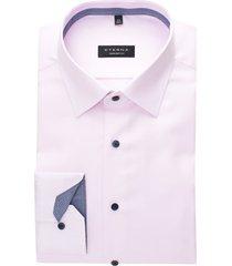 eterna overhemd comfort fit roze