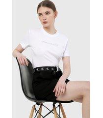 camiseta blanco calvin klein