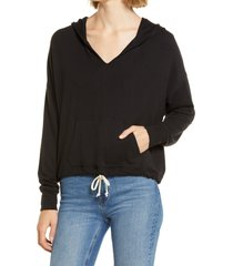 women's lou & grey signature soft hoodie, size x-large - black