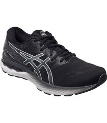 gel-nimbus 23 shoes sport shoes running shoes svart asics