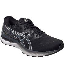 gel-nimbus 23 shoes sport shoes running shoes svart asics