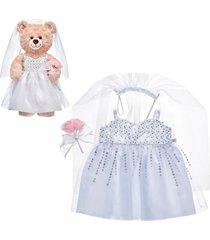 vestido novia build a bear