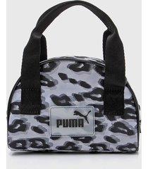 bolso animal print puma core pop mini