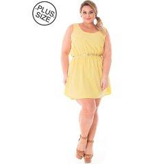 89dd275d5 Vestidos - Plus Size - Amarelo Estampado - 1 produtos - Jak&Jil