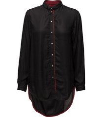 c-arya shirt långärmad skjorta svart diesel women