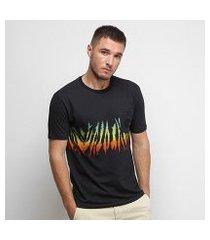 camiseta nicoboco digital slim fit burlington masculina