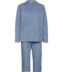 tiny flower pyjamas set pyjama blauw becksöndergaard