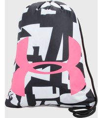 tula negro-blanco-rosa under armour ozsee sackpack