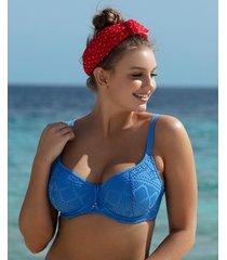 sundance underwire sweetheart padded bikini top