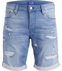 jack & jones jeans short 12147070 rick 855 blue - denim