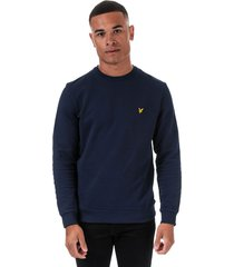 mens taped crew neck sweatshirt