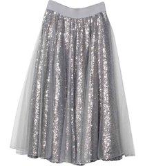 monnalisa silver skirt