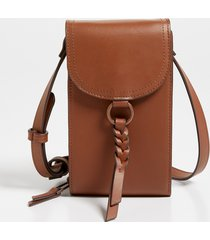 maurices womens cognac braided strap crossbody bag brown