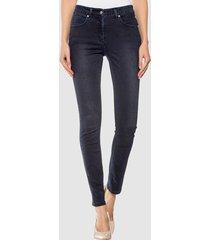 jeans alba moda donkerblauw