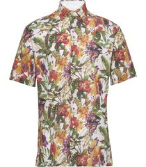 blizzard kortärmad skjorta multi/mönstrad seven seas copenhagen