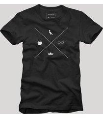 camiseta a maior tardezinha reserva preto