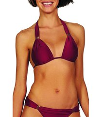 vix swimwear bia bikini top, size dd in divino at nordstrom
