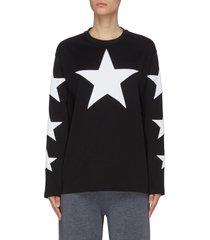 'creuse' star cotton sweatshirt