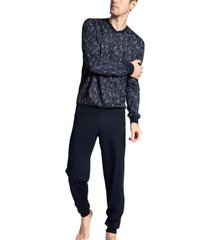 calida relax imprint 1 pyjama with cuff
