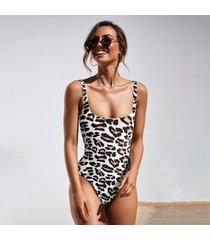 bañador de mujer leopard